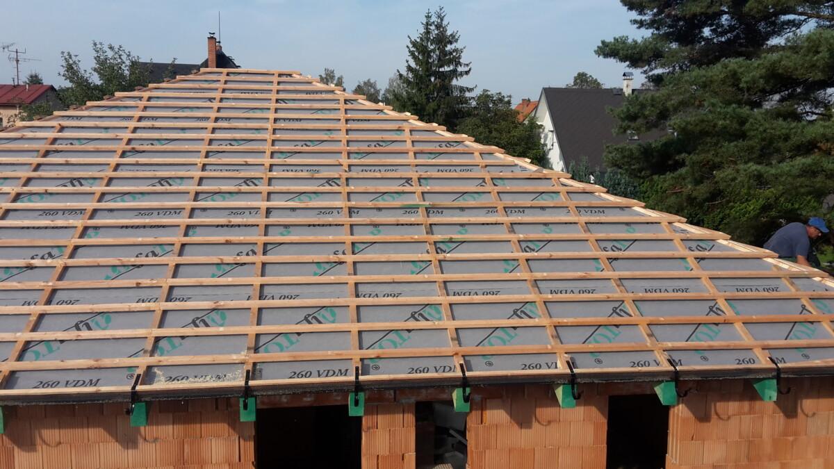 Rozestavěné střechy Frýdek-Místek
